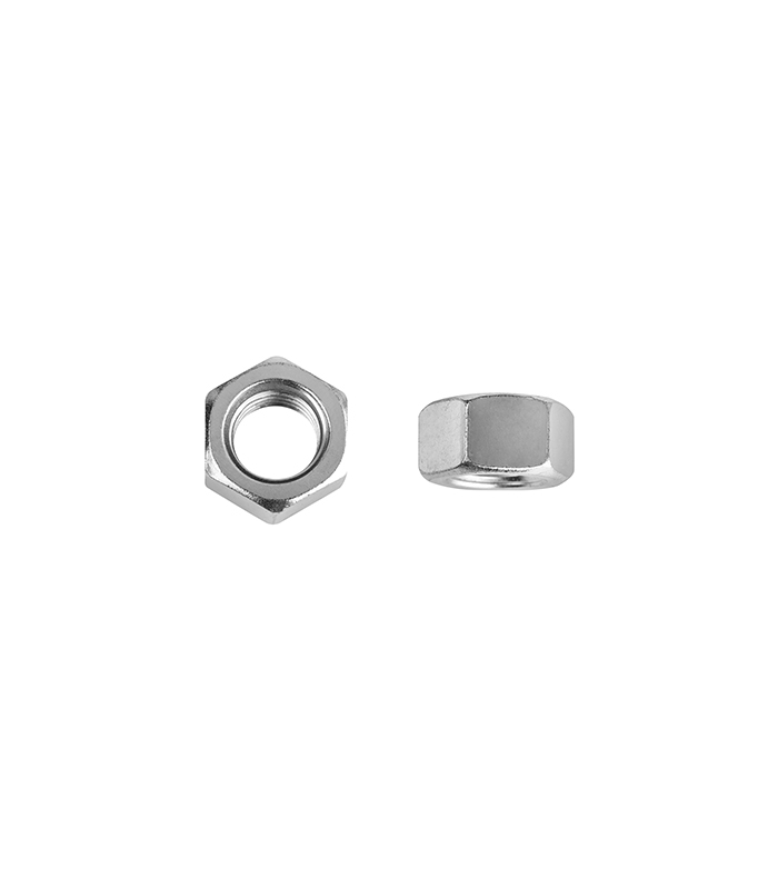1/4 in. Zinc-Plated Coarse Hex Nut